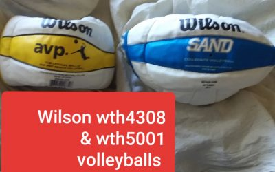 WILSON AVp volleyballs orginal Wth4308 or wth5001 in stock hard to find