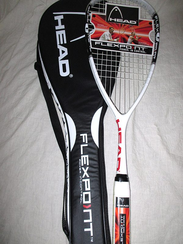 Head Flexpoint 130 Squash Racket - Racquets4Less.com
