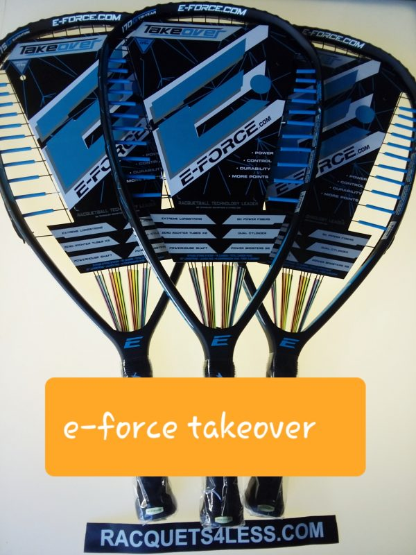 Racquets4less has eforce takeover racquets